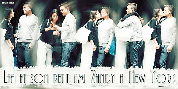 .  06/09/2017 : Lea a été vue en compagnie de son petit ami Zandy dans New York City.   Tenue très très simple pour Lea! Par contre, je les trouve juste adorables tout les deux ! c'est un  BOF.[/font=Arial]    .