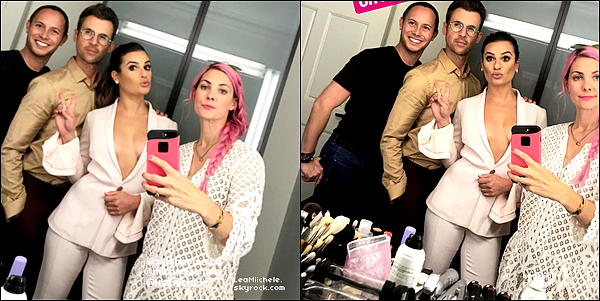 """.  15/09/2017 : Lea était présente à l'événement : """"The Variety and Women in Film's Emmy TV Nominees Party"""".   Je trouve Lea sublime ! j'aime beaucoup sa coiffure et son make up ! Sa tenue lui va vraiment bien ! c'est un  TOP.[/font=Arial]    ."""