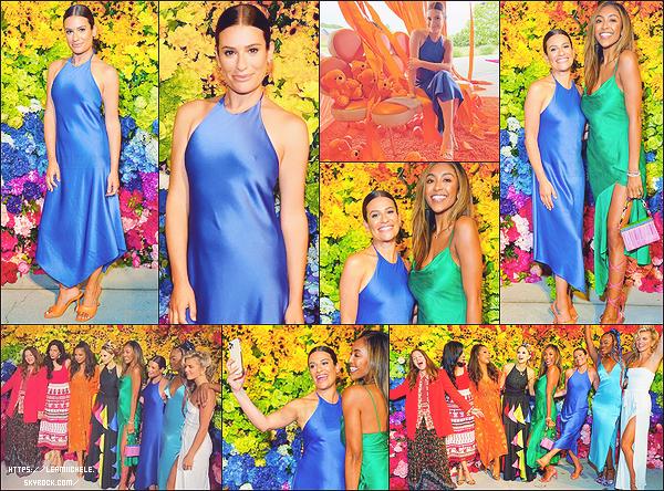•••   EVENT :   Lea été présente au Alice + Olivia's Pride Prom au Parrish Art Museum à New York, le 24 juin 2021           AnnaLynne McCord, Drew Barrymore, Tayshia Adams ou encore  DJ Ty Sunderland étaient présents pour soutenir la cause LGBTQ+.