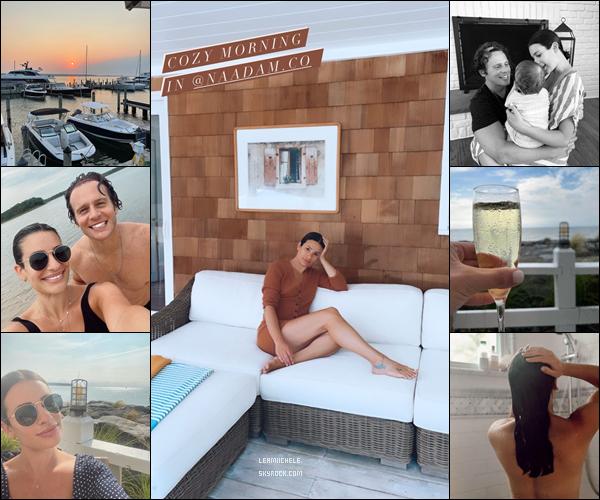 ⇢ ♬ ♪ ♫ _ INSTAGRAM_ ●  La belle a posté diverses photos sur ses réseaux sociaux ♫  ⇣    ▲ Lea a passé le Week End avec son meilleur ami. Elle a également posté des photos le 15/07! C'est toujours de supers clichés▲ [/font=Tahoma]   .