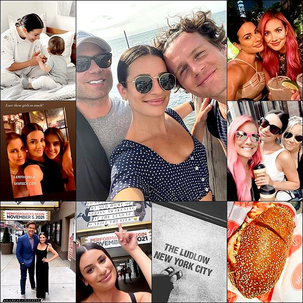 ⇢ ♬ ♪ ♫ _ INSTAGRAM_ ●  Lea a posté de toutes nouvelles photos sur ses réseaux sociaux ♫  ⇣    ▲ La première photo avec Jon date du week end dernier. Les autres datent de cette semaine (22/07) avec son séjour a New York▲ [/font=Tahoma]   .