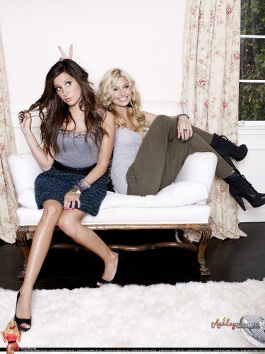 Ashley Tisdale et Alyssa Michalka shoot