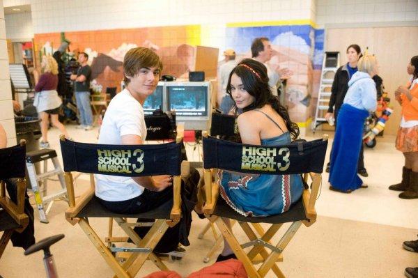 Vanessa Hudgens et Zac Efron