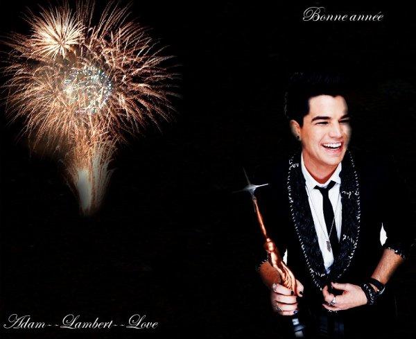 Adam--Lambert--Love vous souhaite une bonne année ;)