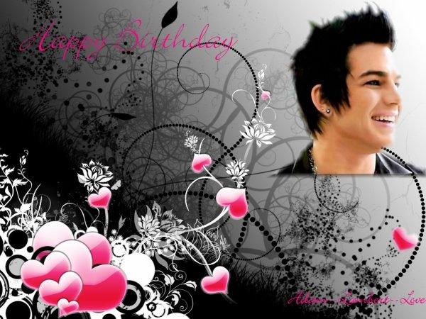happy Birthday Adam ♥