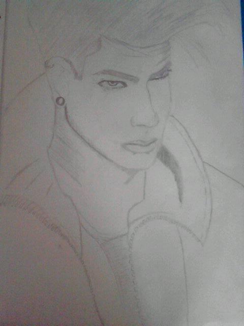 """2ème dessin d""""Adam ^^"""