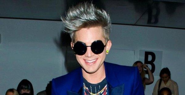 Adam Lambert au Jeremy Scott Show le 12/09/12
