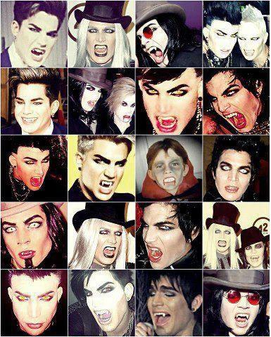 Adam et Moi on a un truk en commun : On ADORE les Vampires ♥
