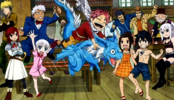 "Fairy Tail - Opening 8 : ""The Rock City Boy"""