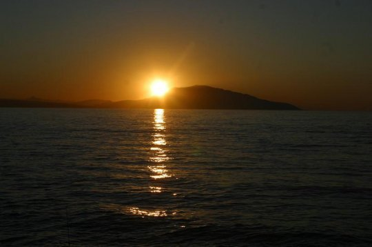 le plus beaux couché soleil a chiffalo 09 mars 2013 a 19h07mn