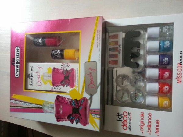 Mes cadeaux  pour  mon anniversaire!