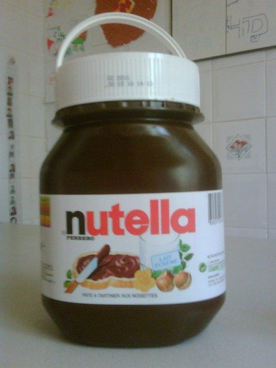 Je ne pourrai jamais vivre sans le Nutella