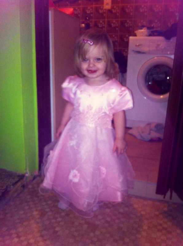 ma petite princesse jolie ma nana <3