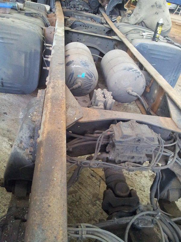 Scania 164: état du chassis