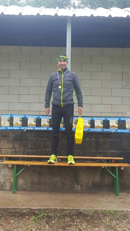 Victoire 2016 cani cross /course à pied