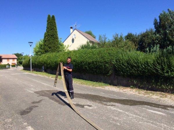 POMPIER SERGENT-CHEF vainqueur cross