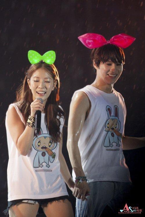 Taemin (with BoA) @ #SMTOWNBANGKOK 121125