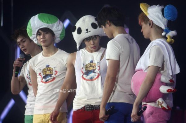 SHINee (++Minho) SO CUTE !!!