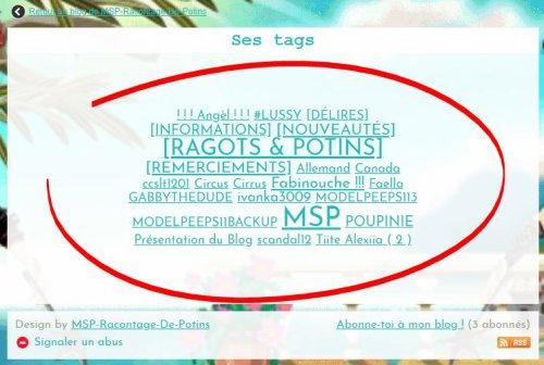 Tri par catégories du blog + Besoin de votre aide!