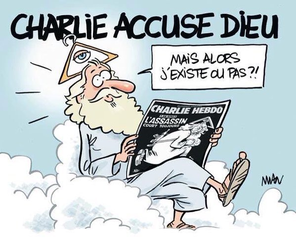 Charlie accuse Dieu....