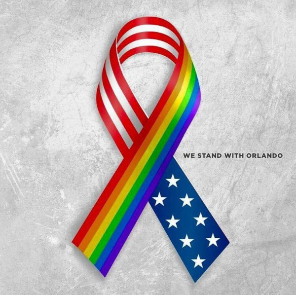 WE STAND WITH ORLANDO ...