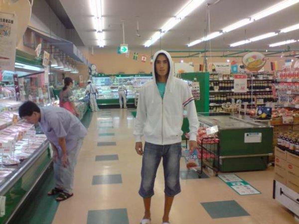 voila cest moi au super market in kagoshima japan