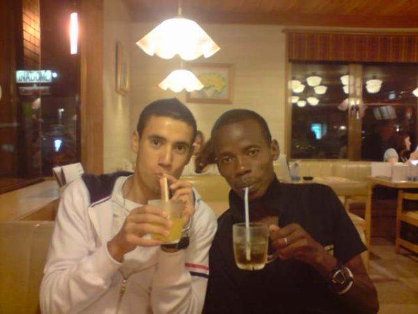 me with my friend kiragu in joyfun japan