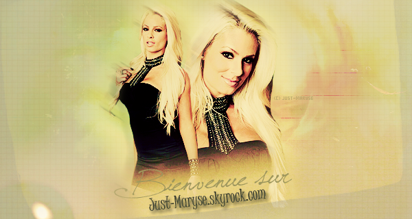 WWW.JUST-MARYSE.SKYROCK.COM Article o1 > Bienvenue sur Just-Maryse.sky
