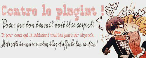 Message Plagiat !!!!!