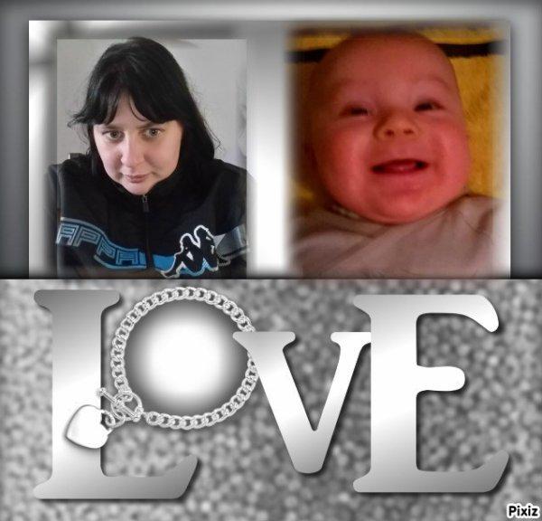 moi et mon fileul d'amour