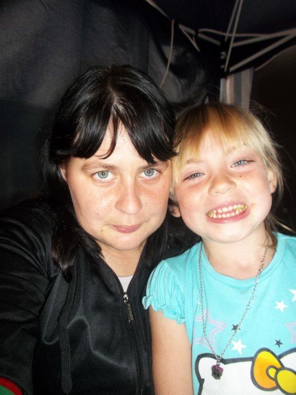 moi et ma filleule d'amour