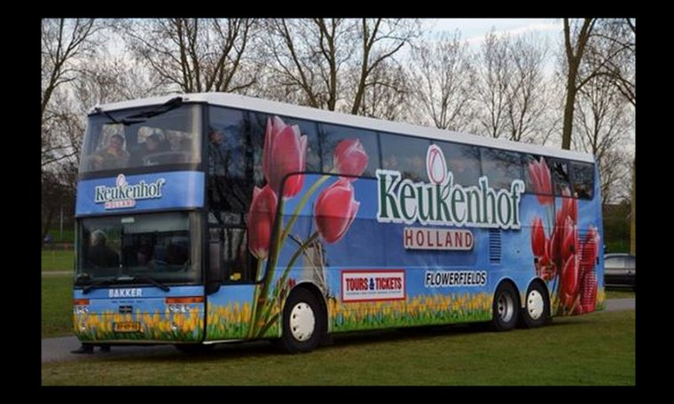 "DEMAIN DIRECTION LA HOLLANDE   "" KEUKENHOF  """