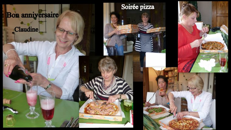 SOIREE PIZZA / TRESSES