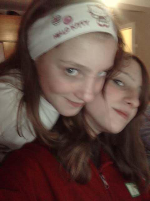 ma sister and me!