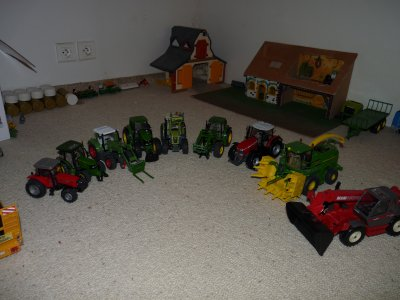 tous mes tracteurs