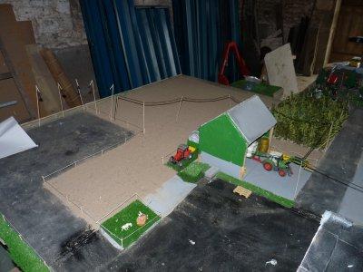 Mon diorama qui est enfin terminé