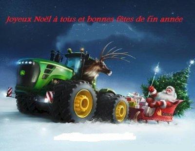 Joyeux Noël à tous et bonnes fêtes de fin d'année