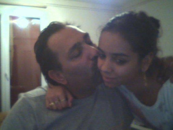 moi et ma fille adoré