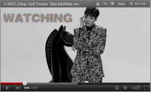 Teaser MV en noir et blanc des U-KISS pour « Stop Girl »