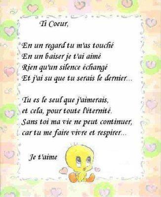 petit poeme