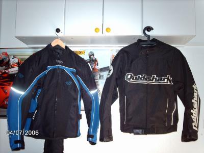 Blouson moto quickshark