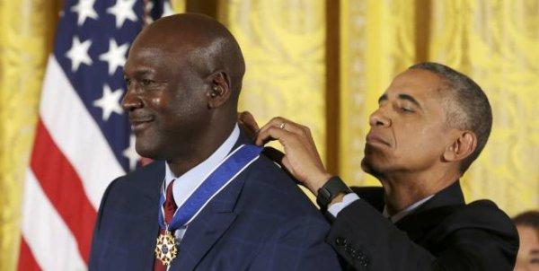Quand Barack Obama émeut Michael Jordan aux larmes