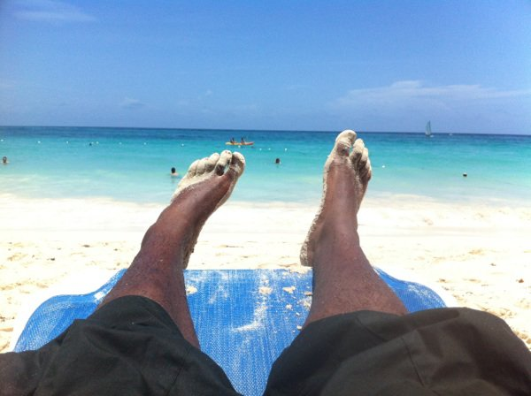 I'm In Punta Cana Beach