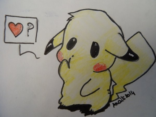 Un petit pikachu
