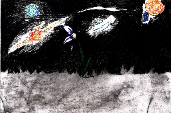 simple représentation de la nuit