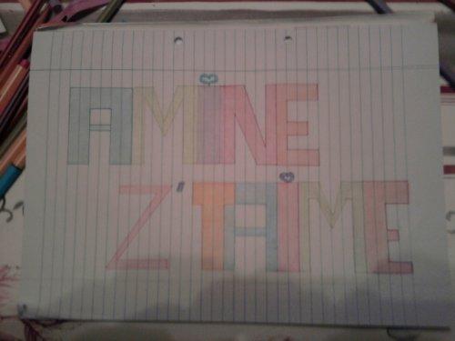 Juste parce que ztaimee 3omri (l) ^^