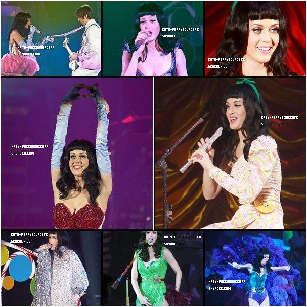 . 17 /03/11 [/g:]Katy poursuit son California Dreams Tour à Londres ( Angleterre) ..