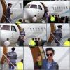 . 05 /05/11 [/g:]Katy allant dans son jet privé à Sidney ( Australie) ..