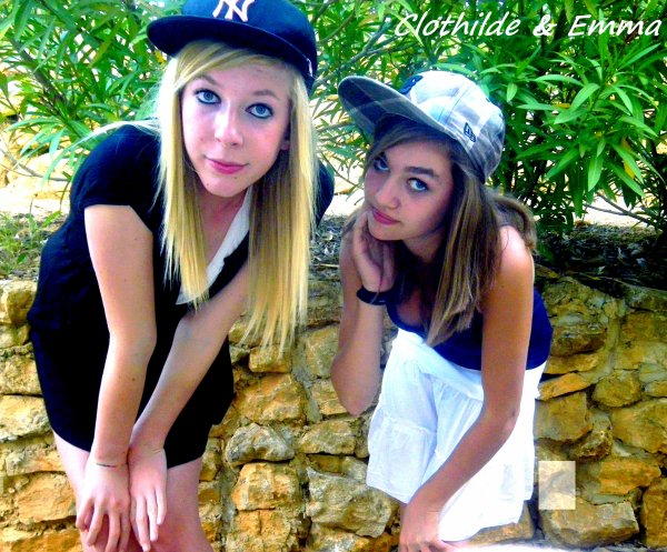 Clothilde & Emma , sa fait 11 ans déja ..