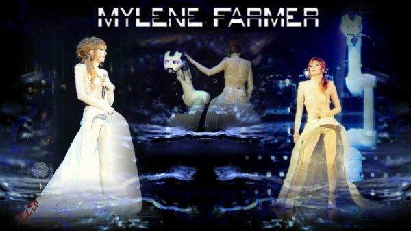 tres beau montage de mylene farmer